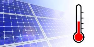 invloed hoge temperatuur op zonnepanelen