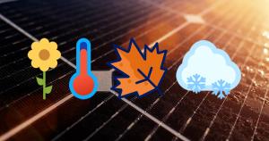 Invloed seizoenen opbrengst zonnepanelen Stichting Garantiefonds ZonZeker