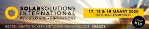 Solar Solutions 2020 deelname Stichting Garantiefonds ZonZeker