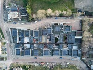Zonnekeus project zonnepanelen