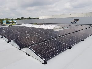Vanben project zonnepanelen