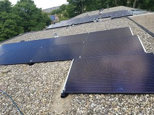 Vanben project zonnepanelen